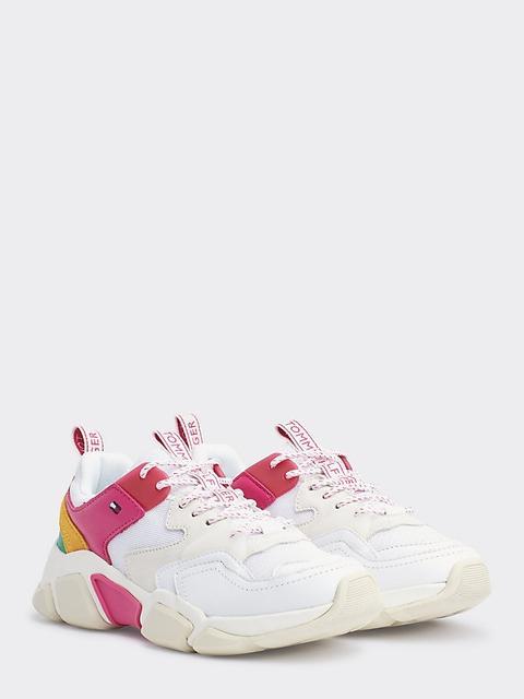 Zapatillas Robustas Con Diseño Color Block