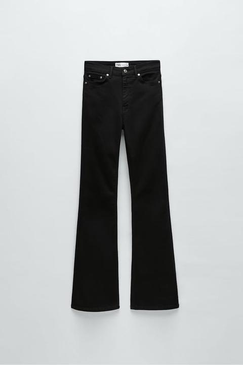 Jeans Zw Premium High Waist Skinny Flare Astra Black