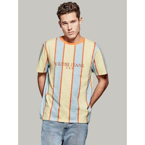 hyggelig frisk top mode gratis fragt A$ap Rocky Usa T-shirt from Guess on 21 Buttons