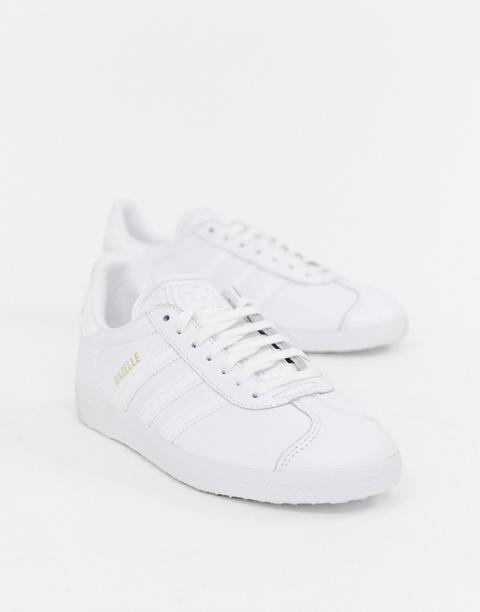 Zapatillas De Deporte Blancas Gazelle De Adidas Originals-blanco de ASOS en 21 Buttons