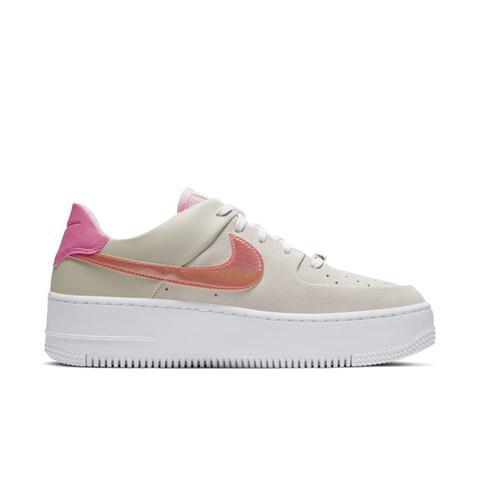 Nike Air Force 1 Sage Low Zapatillas - Mujer - Crema