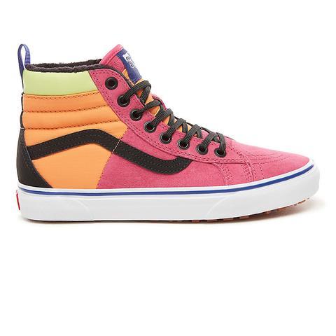 Vans Zapatillas Sk8-hi 46 Mte Dx ((mte) Pink Yarrow/tangerine/black) Mujer Rosa