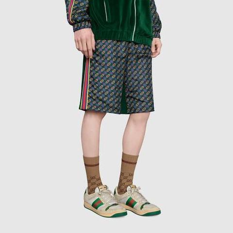 Calcetines Algodón Tribanda Web de Gucci en 21 Buttons