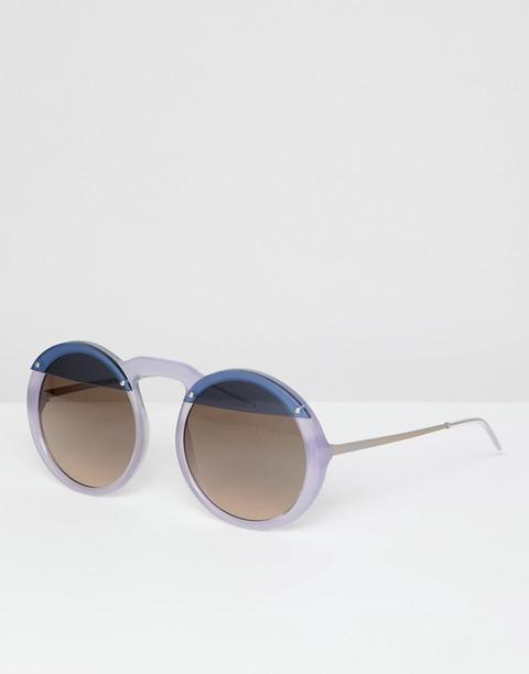Gafas De Sol Redondas De Emporio Armani de ASOS en 21 Buttons