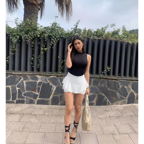 Falda Soraya Blanca