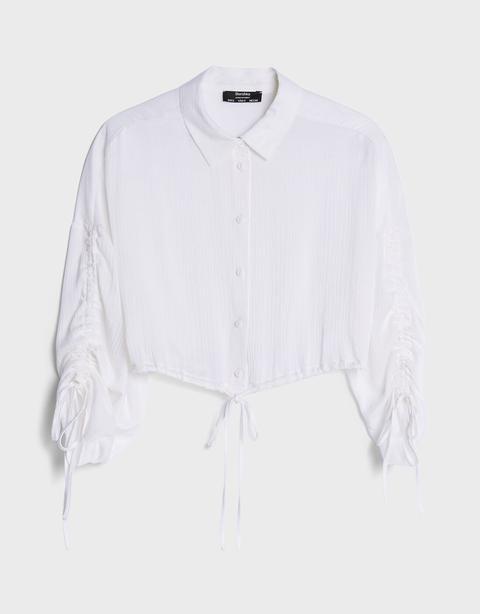 Camisa Fruncidos