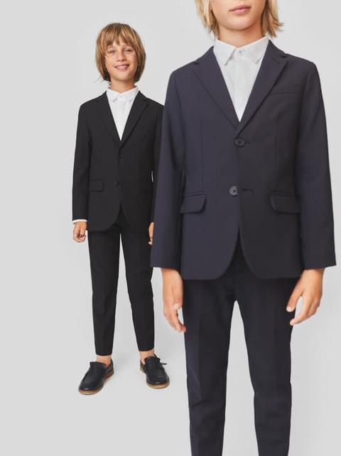 Guantity limitata acquista online negozi popolari Pantaloni Da Abito Blu Marino Basic from Zara on 21 Buttons