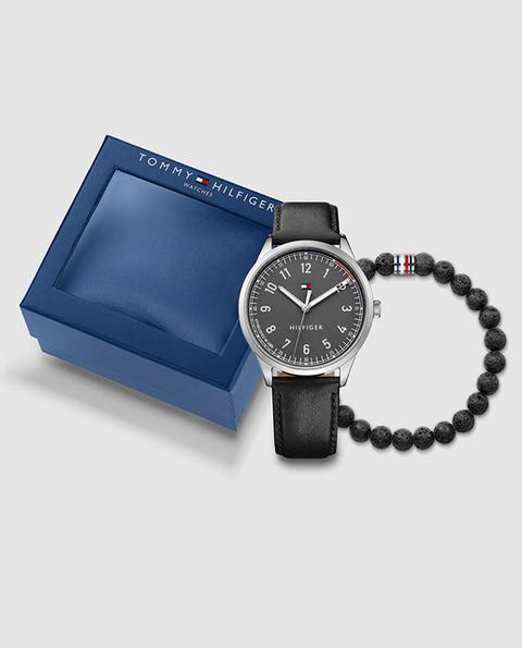 Tommy Hilfiger - Reloj De Hombre 2770019 De Piel Con Pulsera De Lava de El Corte Ingles en 21 Buttons