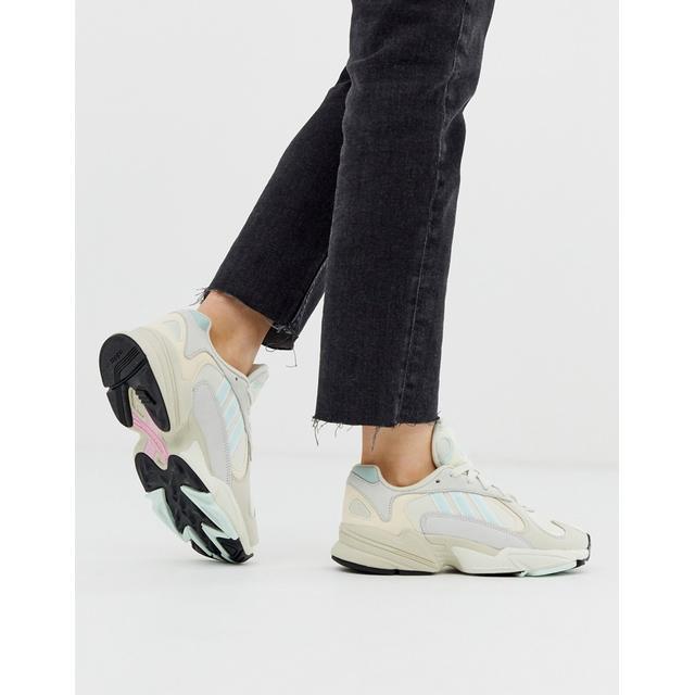 Adidas Originals – Hochgeschlossenes Oberteil Aus Kunstpelz In Grün from ASOS on 21 Buttons