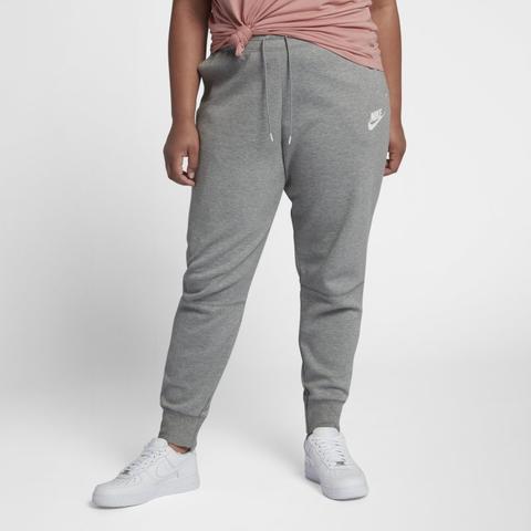 Nike Talla Grande - Sportswear Tech Fleece Pantalón - Mujer - Gris de Nike en 21 Buttons