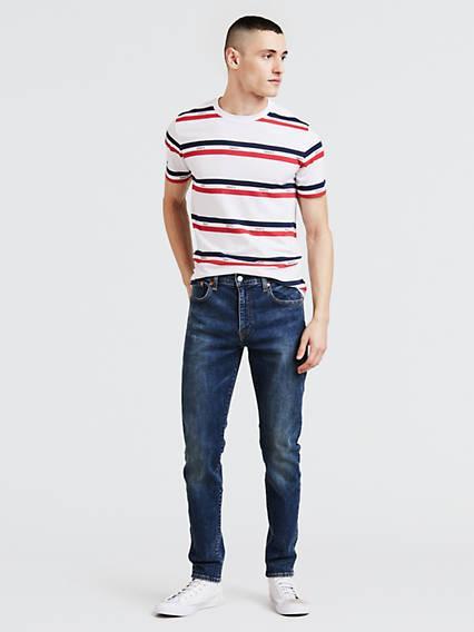 512™ Slim Taper Fit Jeans Advanced Stretch Negro / Revolt de Levi's en 21 Buttons