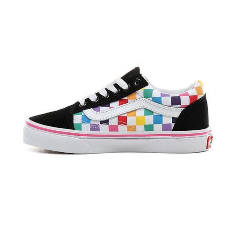 Vans Kids Checkerboard Old Skool Shoes