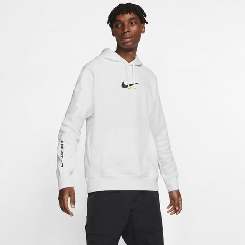 100% genuino venta barata ee. bueno Nike Sportswear Sudadera Con Capucha - Hombre - Blanco from ...