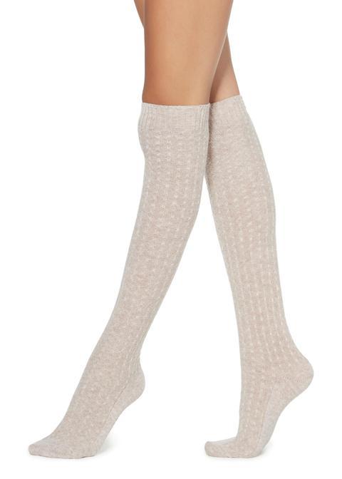 Calcetines Estampados Por La Rodilla
