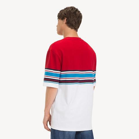nike righe t shirt polo