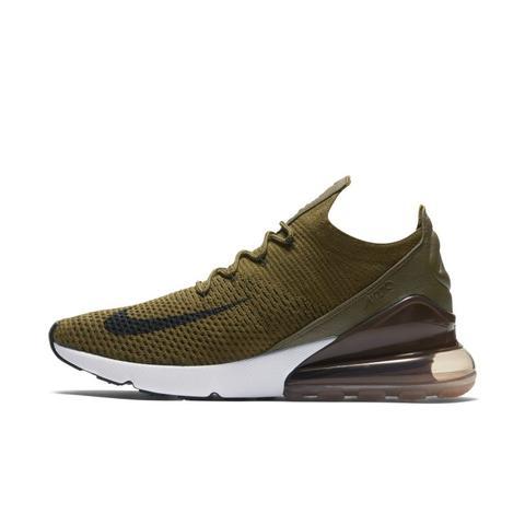 mejores zapatillas de deporte dbe11 7d2fb Nike Air Max 270 Flyknit Zapatillas - Hombre - Verde from Nike on 21 Buttons