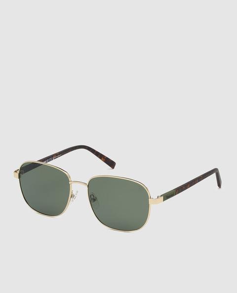 Timberland - Gafas De Sol Unisex Rectangulares De Metal Con Lentes Polarizadas de El Corte Ingles en 21 Buttons