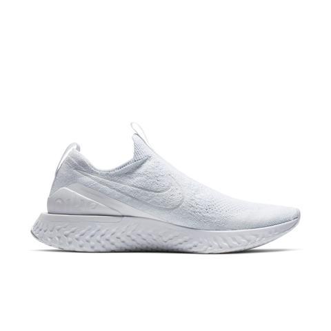 Scarpa Da Running Nike Epic Phantom React Flyknit Uomo Bianco from Nike on 21 Buttons