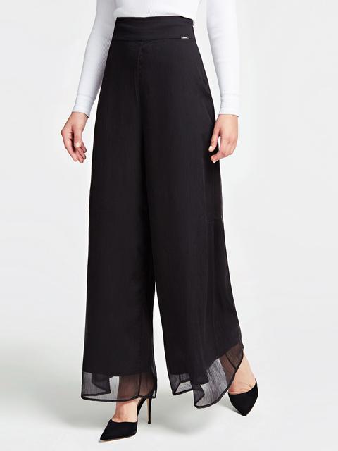 pantaloni nike tech bianchi