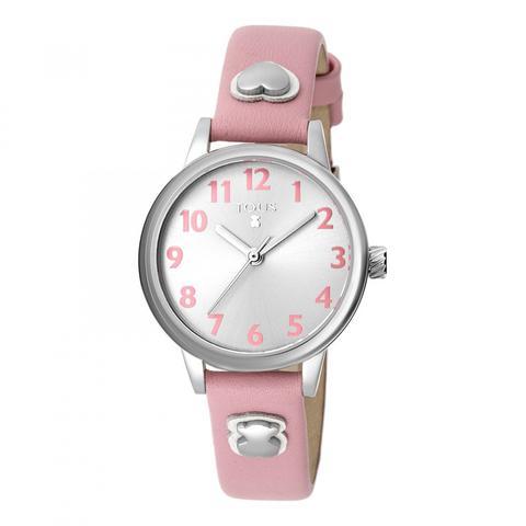 Reloj Dreamy De Acero Con Correa De Piel Rosa de Tous en 21 Buttons