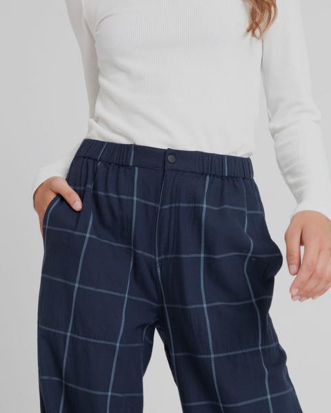 Pantalón Mamita Blue Checks