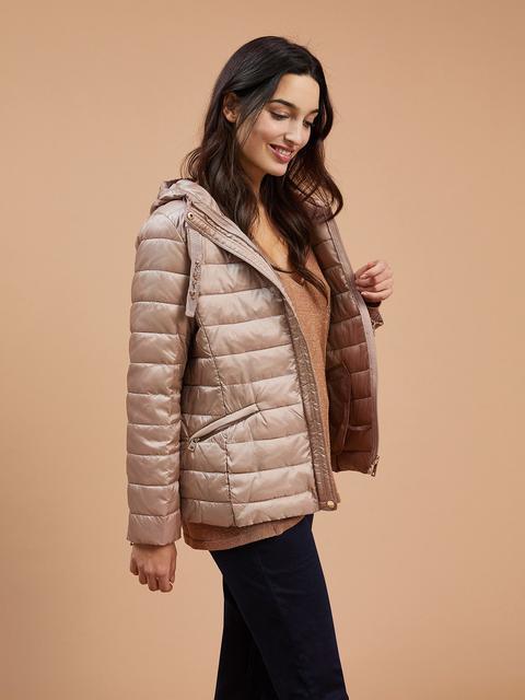 size 40 7abf5 58129 Piumino Con Cappuccio from Zara on 21 Buttons