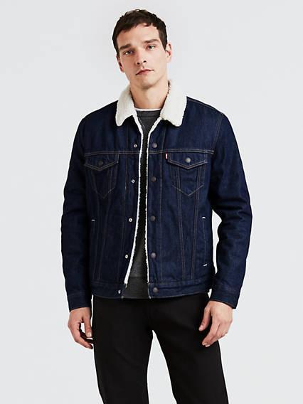 Sherpa Trucker Jacket Azul / Rockridge de Levi's en 21 Buttons