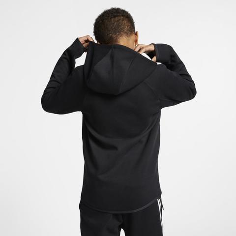 nouveau produit 3ba7e 71ce1 Veste Entièrement Zippée Nike Sportswear Tech Fleece Pour Enfant Plus Âgé -  Noir from Nike on 21 Buttons