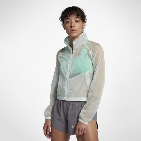 Guantity limitata offerta speciale migliori offerte su Giacca Da Running Nike Run Division - Donna - Verde from Nike on 21 Buttons