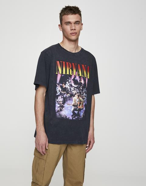 Camiseta Nirvana Unplugged