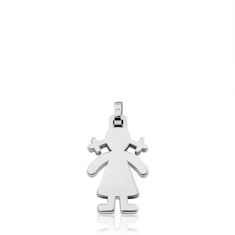 Colgante Sweet Dolls De Plata de Tous en 21 Buttons