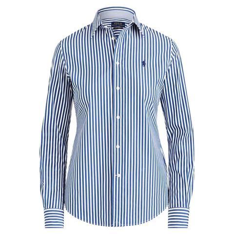 Camisa Elástica Slim Fit A Rayas de Ralph Lauren en 21 Buttons