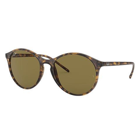 Rb4371 Mujer Sunglasses Lentes: Marrón, Montura: Habana de Ray-Ban en 21 Buttons