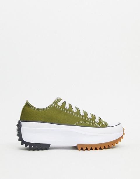 converse vert kaki