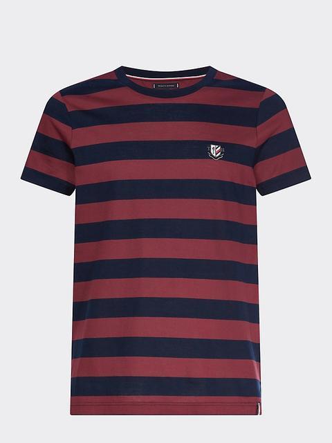 Camiseta Con Estampado De Rayas