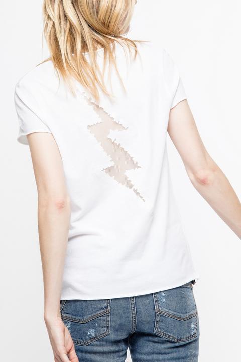 Camiseta Story Fishnet de Zadig & Voltaire en 21 Buttons