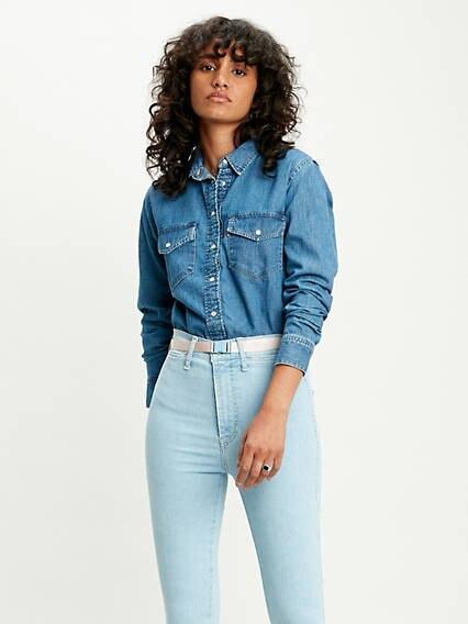 Essential Western Shirt Azul / Going Steady (3) de Levi's en 21 Buttons