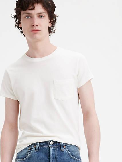 Levi's® Vintage Clothing 1950's Sportswear Tee Blanco / White