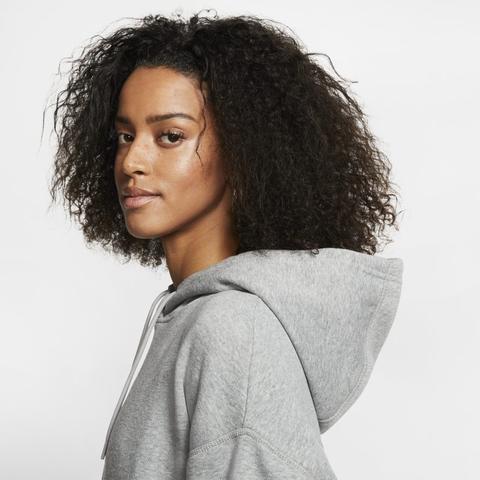 Nike Sportswear Swoosh Sudadera Con Capucha - Mujer - Gris