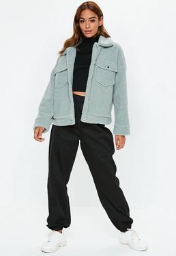 missguided shorts kaufen, Missguided – Kurzer Parka mit