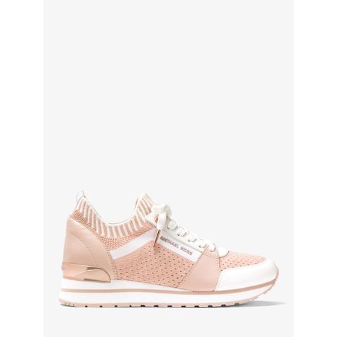 Mk Billie Knit Trainer - Soft Pink