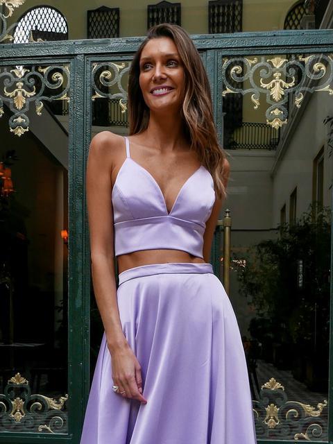 Lavender Top de KAOA en 21 Buttons