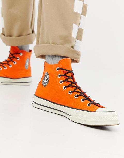 basket converse orange