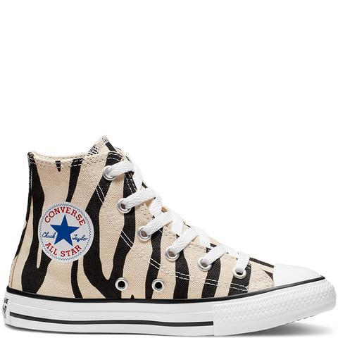 Converse Little Kids Archive Zebra Chuck Taylor All Star High Top