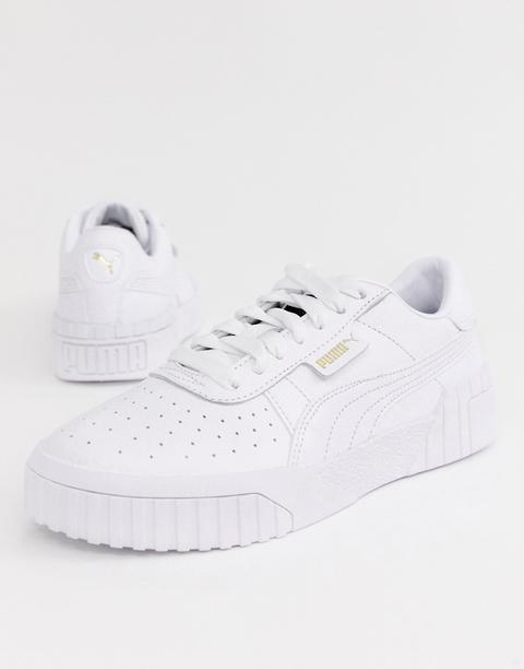 Zapatillas Blanco Triple De Puma Cali