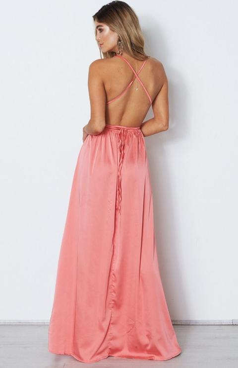 Akela Maxi Dress Coral