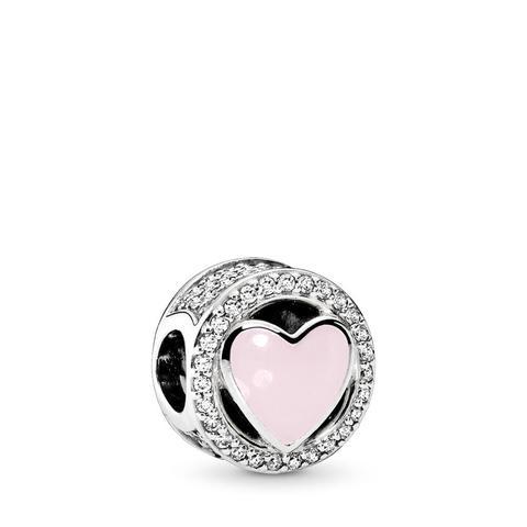 pandora anello corona scintillante rosa