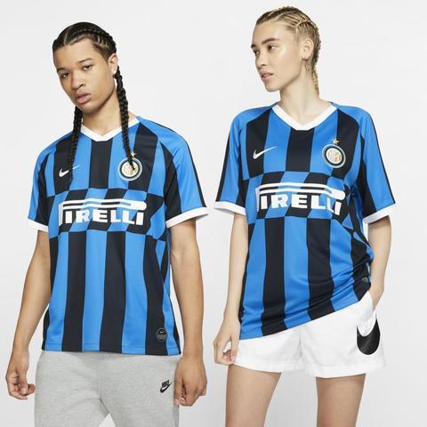 Maglia Da Calcio Inter 2019/20 Stadium Home - Blu de Nike en 21 Buttons