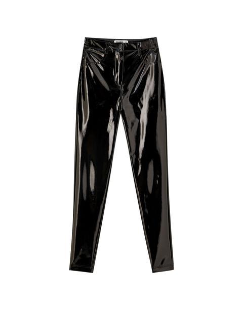 Pantalon Skinny Vinyle
