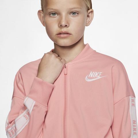 ganso gancho A bordo  Nike Sportswear Chándal - Niña - Rosa de Nike en 21 Buttons